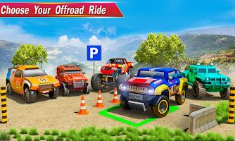 4x4 Prado Offroad Jeep Driving: Parking Games