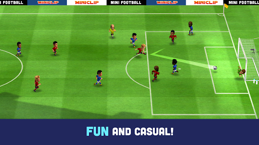 Mini Football - Mobile Soccer 1.2.0 screenshots 1