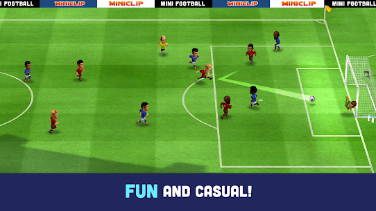 Mini Football – Mobile Soccer Mod Apk (Dumb Enemy/No Ads) 1