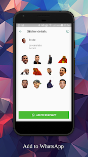 Celebrity Sticker Pack Screenshot