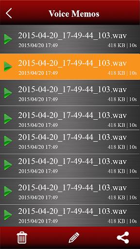 Voice recorder 1.38.463 Screenshots 2