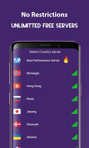 Fire VPN 2021 - Free VPN Proxy & Fast VPN Browser apktram screenshots 2