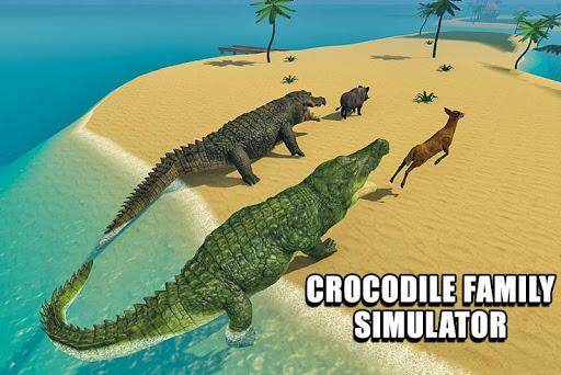 Crocodile Family Simulator Games 2021 1.0 screenshots 1