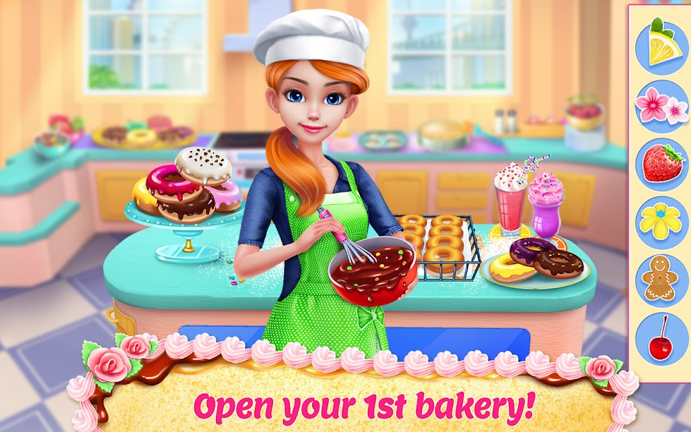 My Bakery Empire - Bake, Decorate & Serve Cakes Android App Screenshot