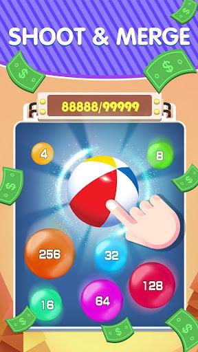 Lucky 2048 - Merge Ball and Win Free Reward 1.1 Screenshots 2
