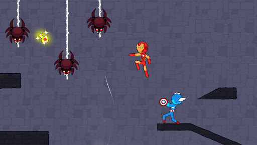 Stickman Red And Blue apkpoly screenshots 13