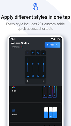 Volume Styles - Customize your Volume Panel Slider 4.1.3 Screenshots 23
