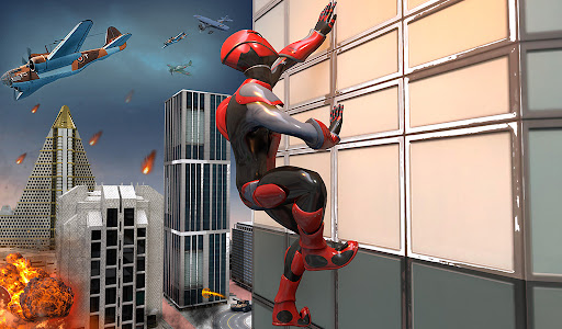 Rope Spider Super Hero Vs City Gangs  screenshots 4