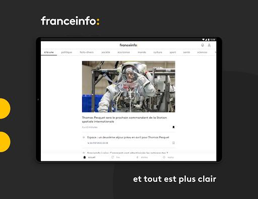 franceinfo : actualitu00e9s et info en direct 7.3.0 Screenshots 9