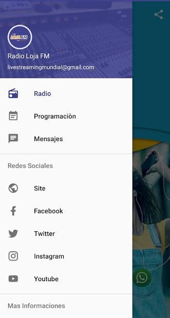 Radio Loja FM Chachapollas screenshot 1