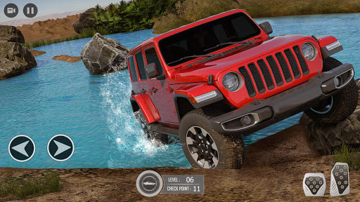 Offroad SUV Jeep Driving Games android2mod screenshots 1