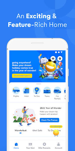 tiket.com - Hotels, Flights, To Dos  screenshots 1