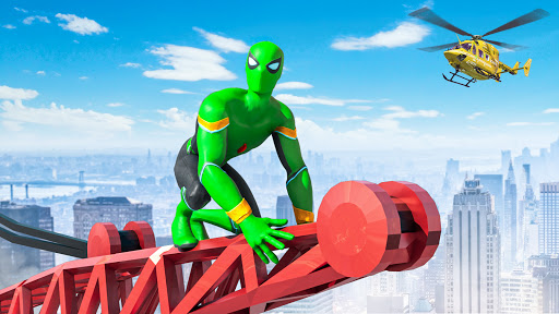 Spider Rope Hero - Gangster Open World City  apktcs 1