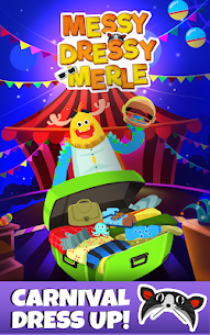 Messy Dressy Merle – Free dress up game for kids 1.0.12 Unlocked MOD APK Android 1