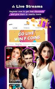 FaceCast 2.5.85 MOD APK – Make New Friends – Meet & Chat Livestream 8