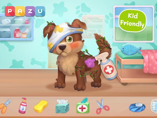 Pet Doctor - Animal care games for kids Apkfinish screenshots 7