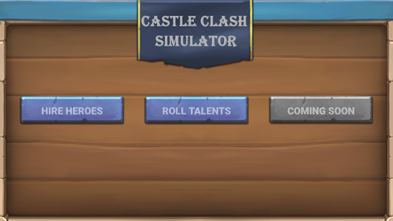 Rolling Simulator for Castle Clash Screenshot