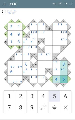 Kakuro (Cross Sums)  screenshots 19