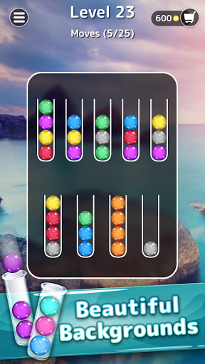 Ballscapes: Ball Sort Puzzle & Color Sorting Games  screenshots 2