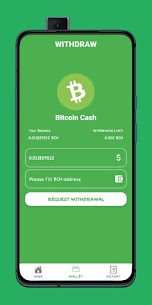 BitcoinCash Miner – Bitcoin Cash Cloud Mining Paid Apk 4