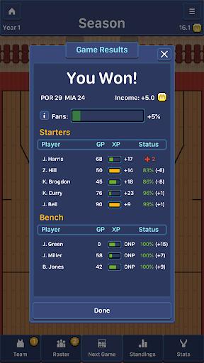 Hoop League Tactics  screenshots 7
