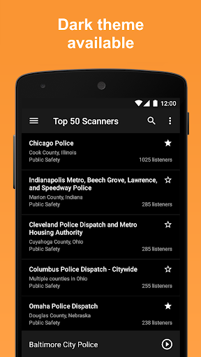 Scanner Radio - Fire and Police Scanner modavailable screenshots 8
