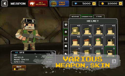 Pixel Z Hunter2 3D - World Battle Survival TPS  screenshots 3