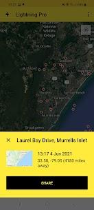 My Lightning Tracker Pro – Live Thunderstorm Map 1