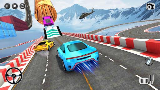 Impossible Stunt Space Car Racing 2019 apktram screenshots 6