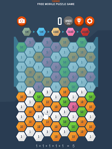 10000! - original indie puzzle (Big Maker) apkpoly screenshots 8