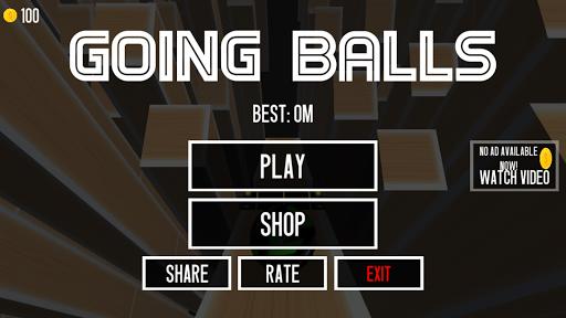 Going Balls!!!  screen 0