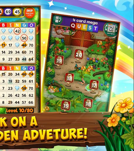 Bingo Quest - Summer Garden Adventure Apkfinish screenshots 2