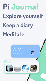 Pi Journal: self-care diary, mental health journal