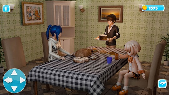 Anime Father Simulator: Virtual Family Life 3D Mod Apk 0.4 (Lots of Gold Coins) 6