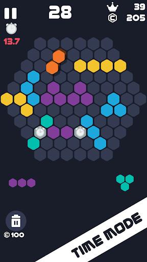 Hexa Mania Fill Hexagon Puzzle, Hex Block Blast  screenshots 4