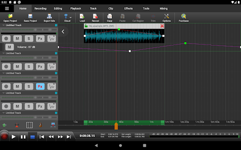 MixPad Master's Edition Screenshot