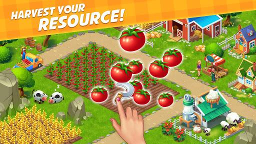 Farm City : Farming & City Building apkpoly screenshots 1