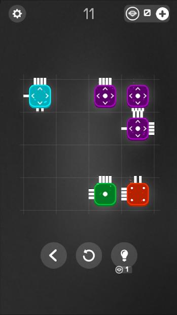 Combine it! - connected blocks of logic puzzle screenshot 1