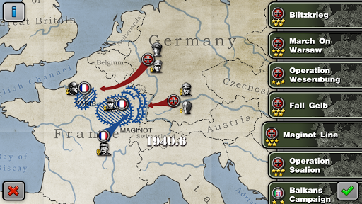 Glory of Generals-WW2 frontline War Strategy Game 1.2.12 Screenshots 10