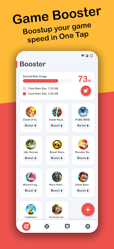 Game Booster ⚡Play Games Faster & Smoother free  screenshots 1