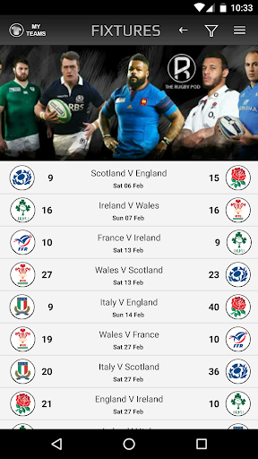 the rugby pod screenshot 3