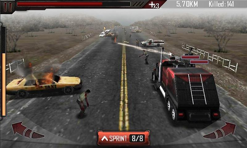 Zombie Roadkill 3D  poster 1