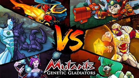 Descargar Mutants Genetic Gladiators APK (2021) {Último Android y IOS} 1