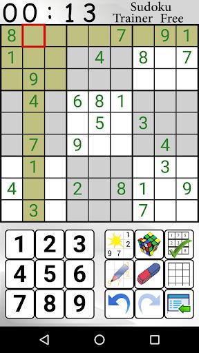 Sudoku Trainer Free  screenshots 2