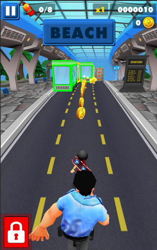 Subway Ninja Run:Surfer in the road 2.0 screenshots 4