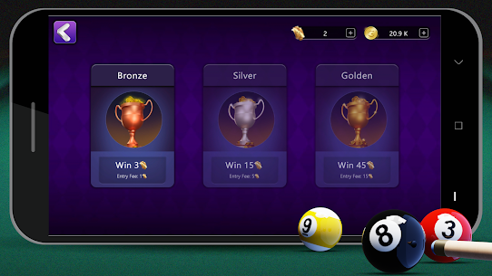 8 Ball Billiards Mod Apk 2.0.3 (Free Shopping) 7