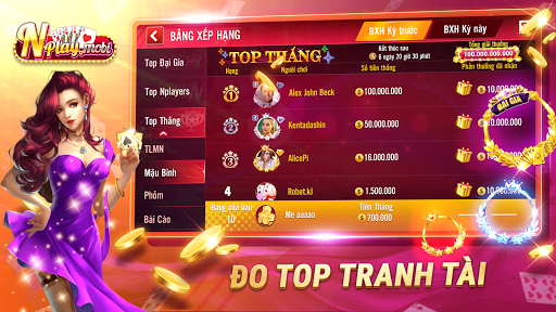 NPLAY: Game Bu00e0i Online, Tiu1ebfn Lu00ean MN, Binh, Poker.. 3.6.0 Screenshots 16