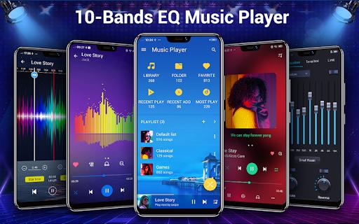 Music Player - 10 Bands Equalizer MP3 Player apktram screenshots 1