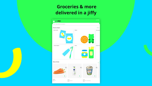 mjam u2013 Delivery Service for food, groceries & more apktram screenshots 8