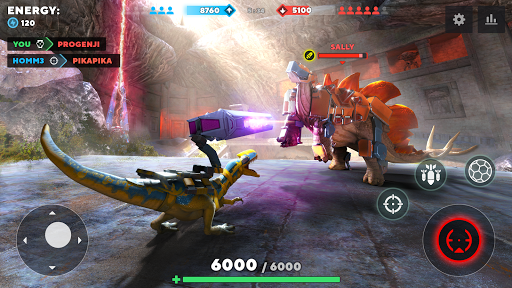 Dino Squad: TPS Dinosaur Shooter  screenshots 4
